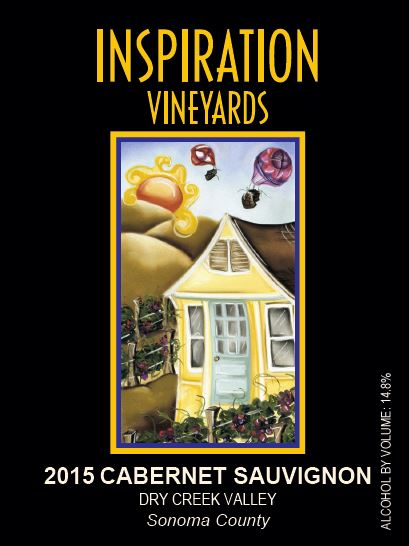 Wine Label - Inspiration Vineyards, 2015 Cabernet Sauvignon
