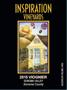 Wine Label - Inspiration Vineyards 2015 Viognier