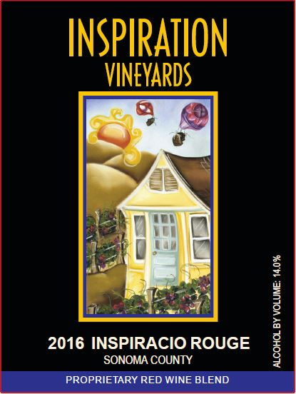 Wine Label - Inspiration Vineyards 2016 Inspiracio Rouge