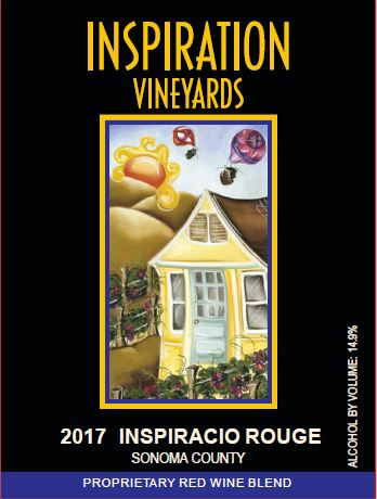 Wine Label - Inspiration Vineyards 2017 Inspiracio Rouge